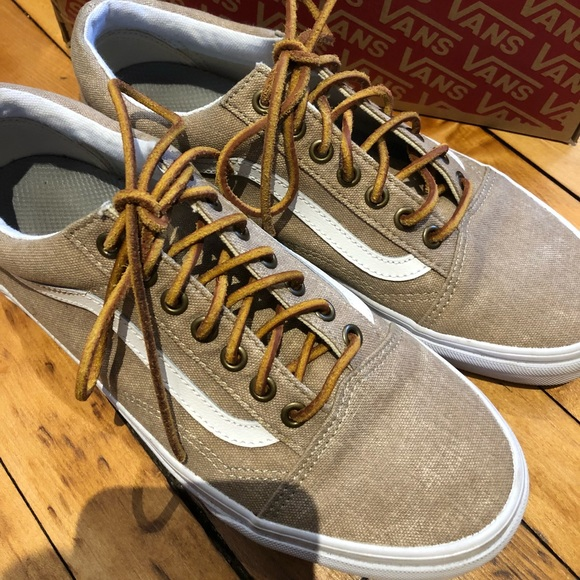 Vans Shoes Run Small Rare Old Skool Washed Canvas Poshmark